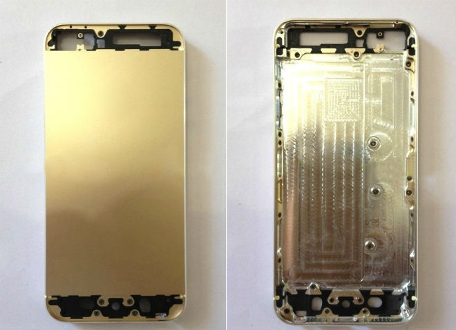 El supuesto nuevo iPhone 5S dorado