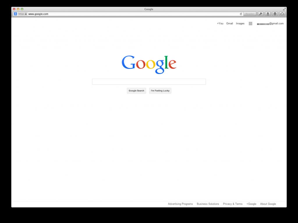 La posible nueva home de Google