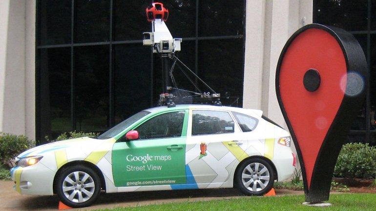 Uno de los vehículos con el cual Google captura las imágenes para Street View