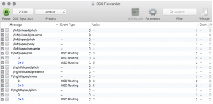 OSC Forwarder