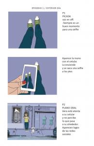 Vera Pera storyboard 1