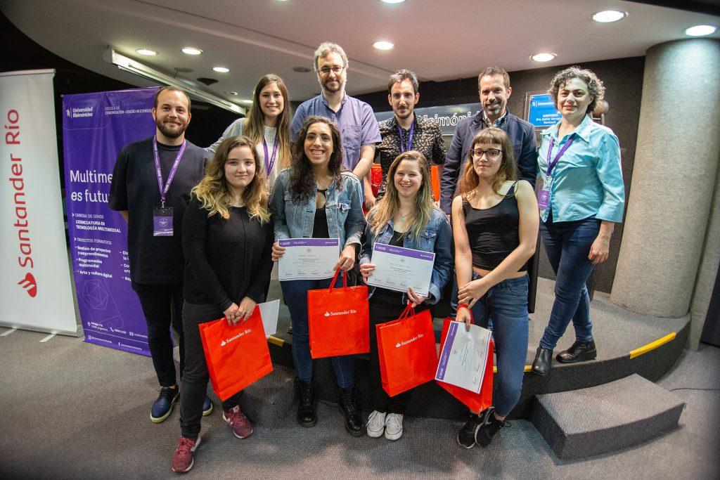 Sabrina Barone, Gabriela Zifferman, Sharon Cazap y Agustina García Vega, ganadoras del tercer puesto.