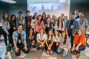 Algunos de los mentores que participaron de la primer jornada del UMAI UX challenge 2019.