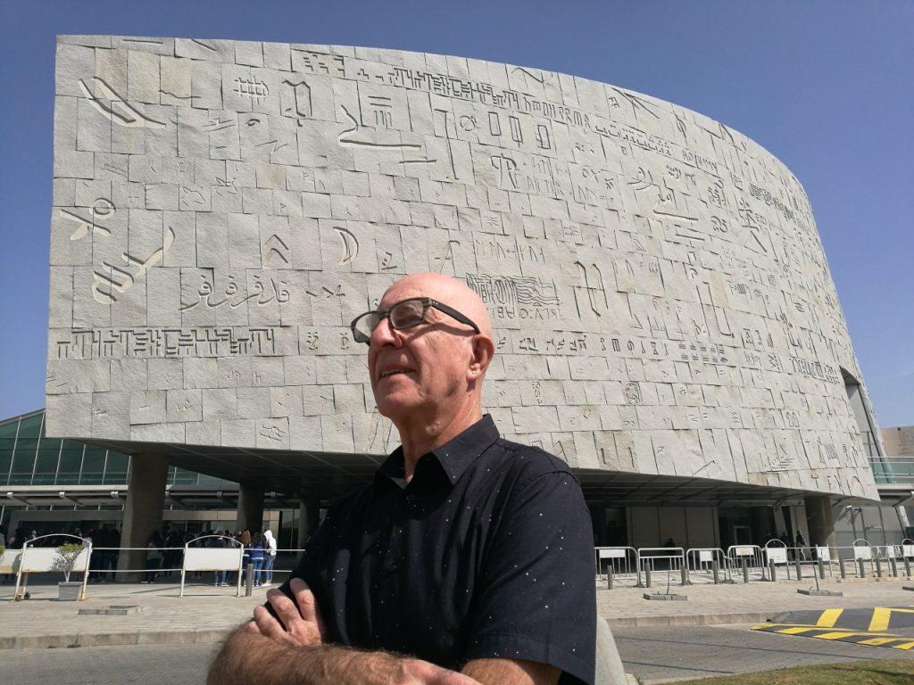 Joaquín Fargas en Egipto