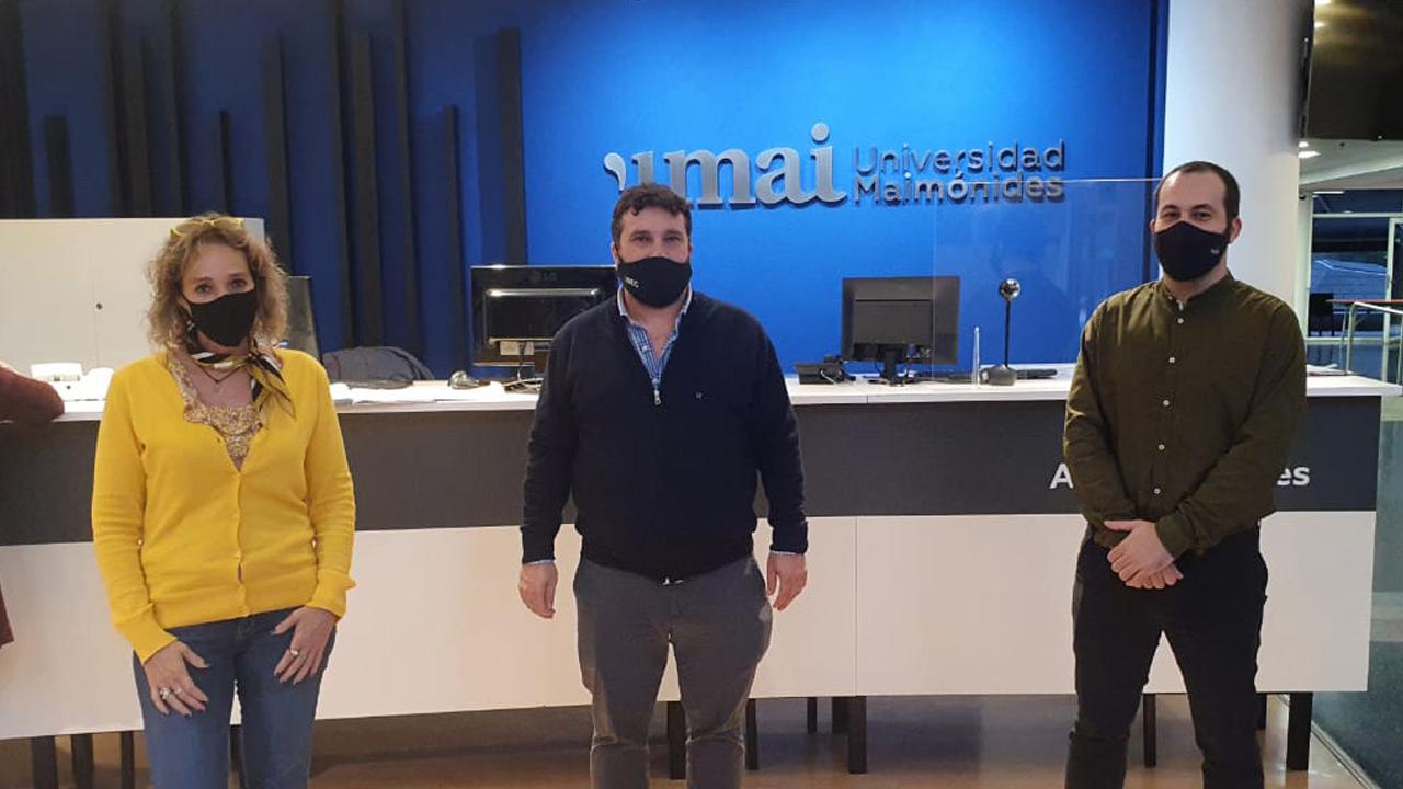 UMAI e ISEC firmaron un acuerdo de colaboración y articulación académica.
